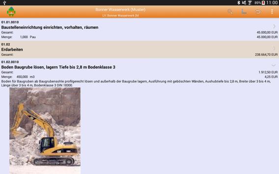 MWM-Piccolo - LV und Aufmaß apk screenshot