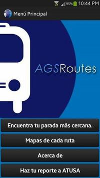AGSROUTES poster