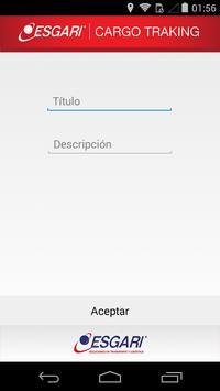 Esgari Cargo screenshot 2