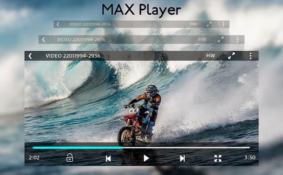 MAX Player - HD Video Player HD apk screenshot