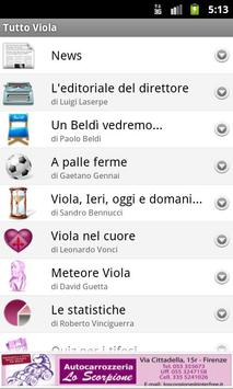 Tutto Viola screenshot 1