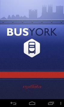 Bus York poster