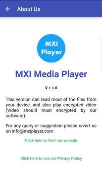 MXI Player apk screenshot