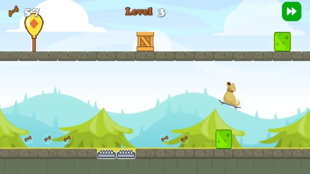 Doug The Dog Skateboard apk screenshot
