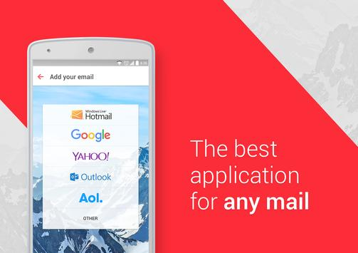 myMail – Free E-mail for Rediffmail, Gmail & other पोस्टर