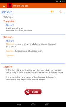 Azerbaijani Dictionary apk screenshot
