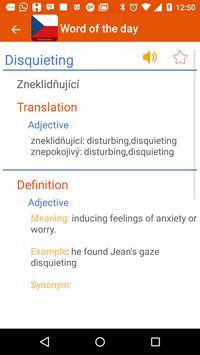 Czech Dictionary apk screenshot