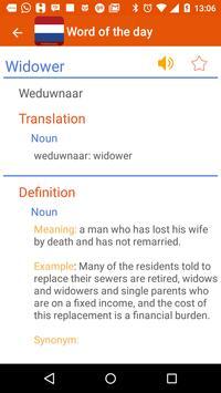 Dutch dictionary apk screenshot