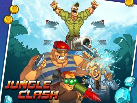 Jungle Clash apk تصوير الشاشة