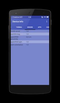 Device Info apk screenshot
