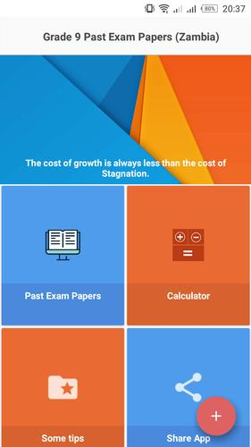 ECZ Grade 9 Past Exam Papers For Android APK Download