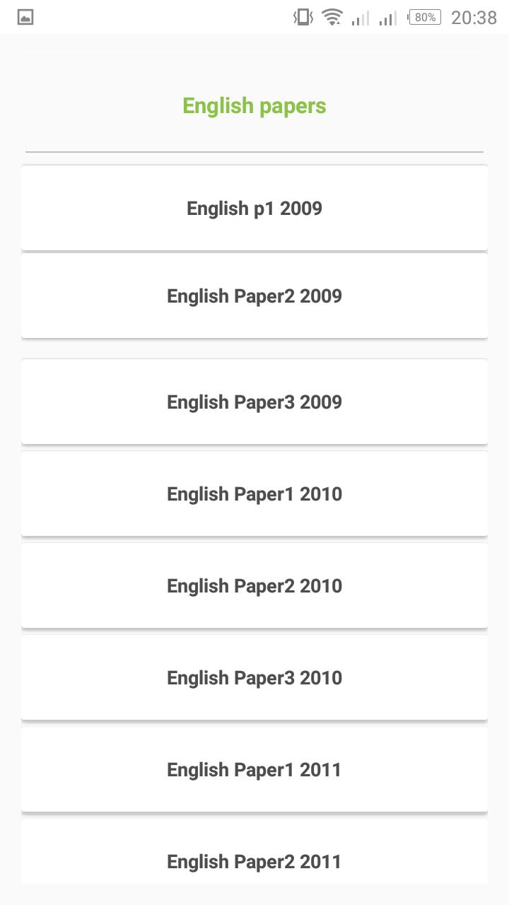 ECZ grade 9 past exam papers for Android - APK Download