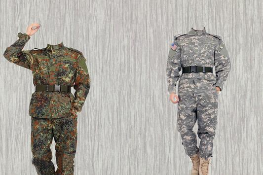 Army Photo Suit poster