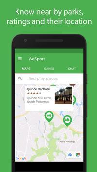 WeSport screenshot 1