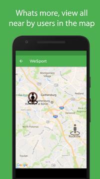 WeSport screenshot 7