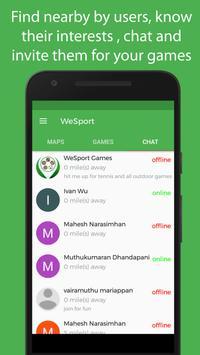 WeSport screenshot 4