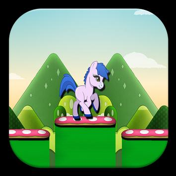 My little temple pony run poster