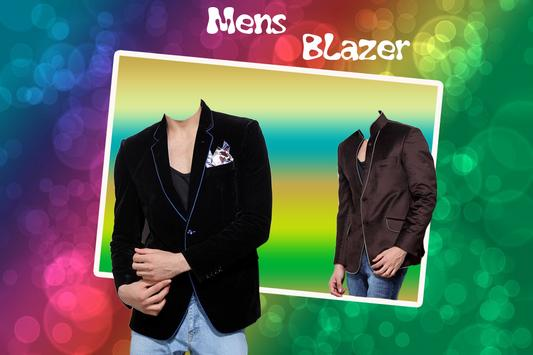Man Blazer Photo Suit poster