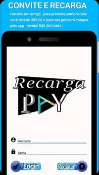 Recarga celular e pagamentos de contas e gift card screenshot 1