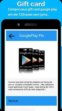 Recarga celular e pagamentos de contas e gift card screenshot 3