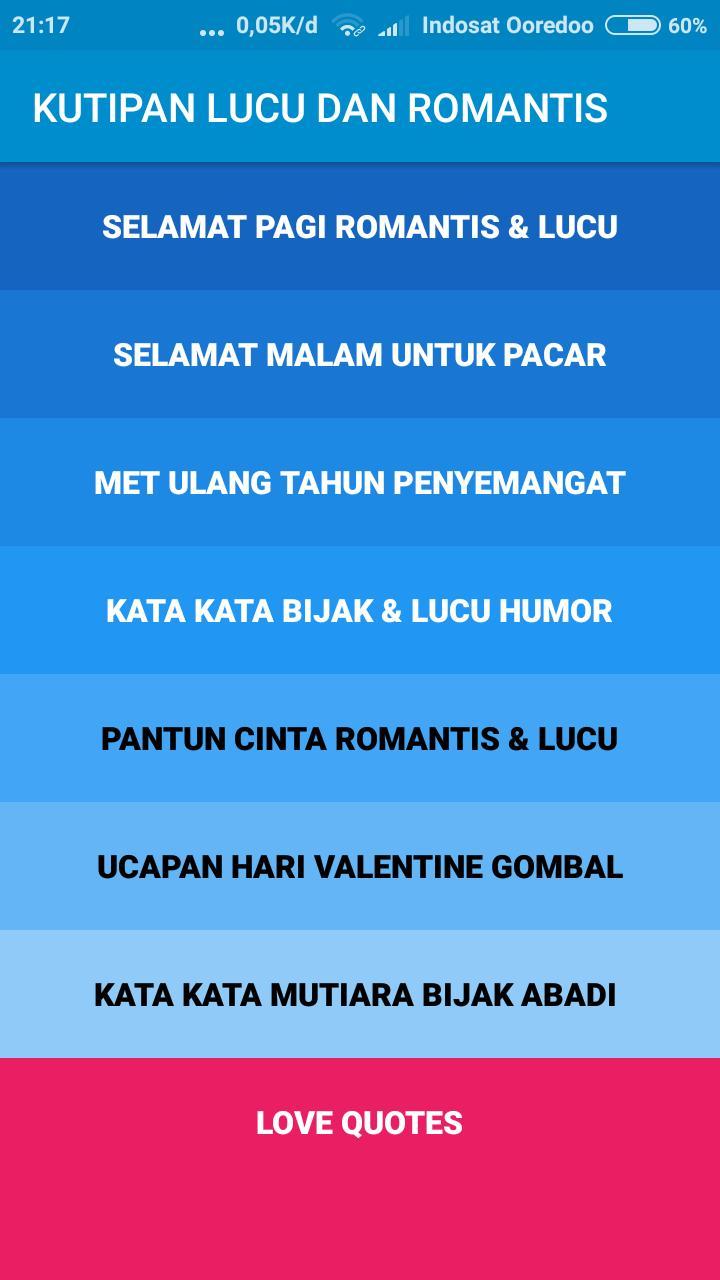 Kata Kata Mutiara Bijak Lucu Dan Romantis Für Android Apk
