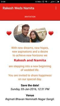 Rakesh Weds Namita poster