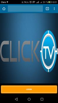 CLICK TV poster