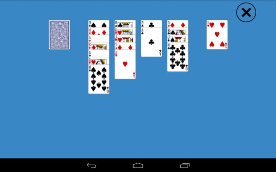Classic Aces Up Solitaire screenshot 1
