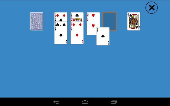Classic Aces Up Solitaire apk screenshot