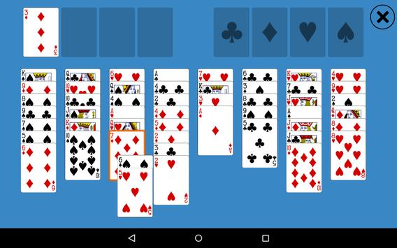 Classic FreeCell Solitaire apk screenshot