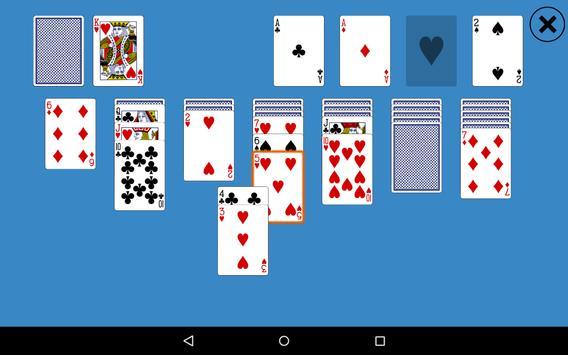 Classic Klondike Solitaire apk screenshot