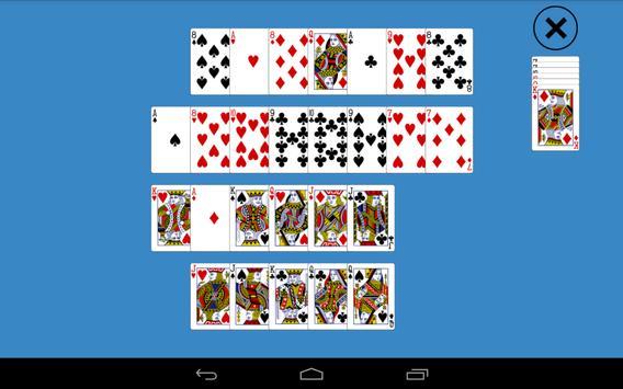 Solitaire Long Line apk screenshot