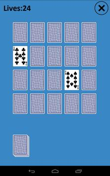 Memory Match Solitaire poster