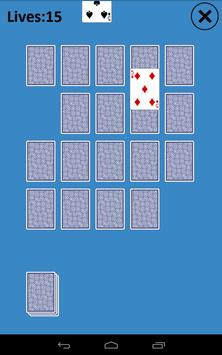 Memory Match Solitaire apk screenshot