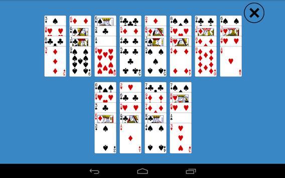 Solitaire Pyramid Plus screenshot 1
