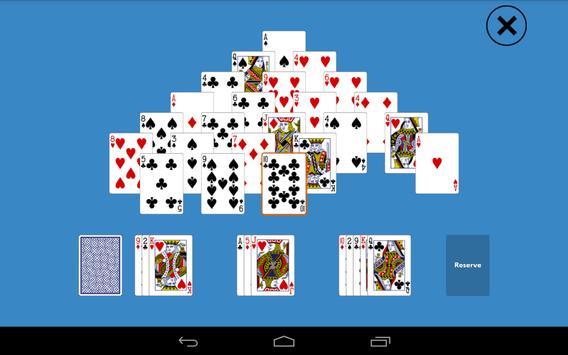 Solitaire Pyramid Plus apk screenshot