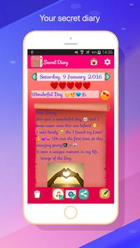 My Diary white Fingerprint 2018 screenshot 1