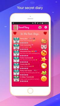My Diary white Fingerprint 2018 screenshot 2