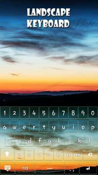 Landscape Keyboard Theme apk screenshot