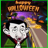 mr halloween bean icon