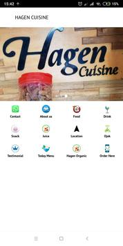 Hagen Cuisine screenshot 2