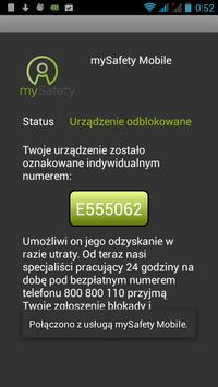 mySafety Mobile poster