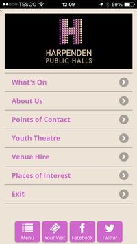 Harpenden Public Halls poster