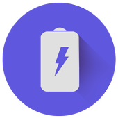 Fast charger - battery saver icon