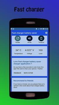 Fast charger - battery saver apk screenshot