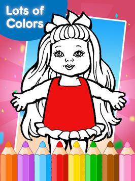 American Coloring Book Girls screenshot 2