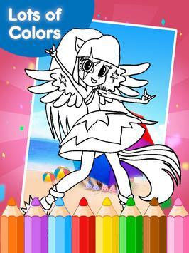 Coloring for Equestrian Girl screenshot 10