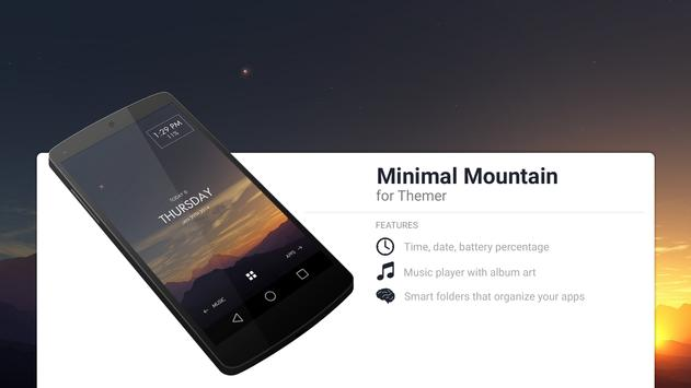 Minimal Mountain Theme for Android - APK Download