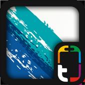Brush Strokes Theme icon