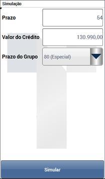Simulador de Consórcio Tagcon screenshot 1